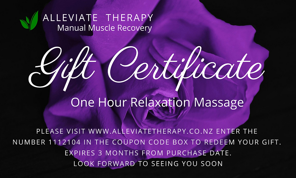 One Hour Relaxation Massage