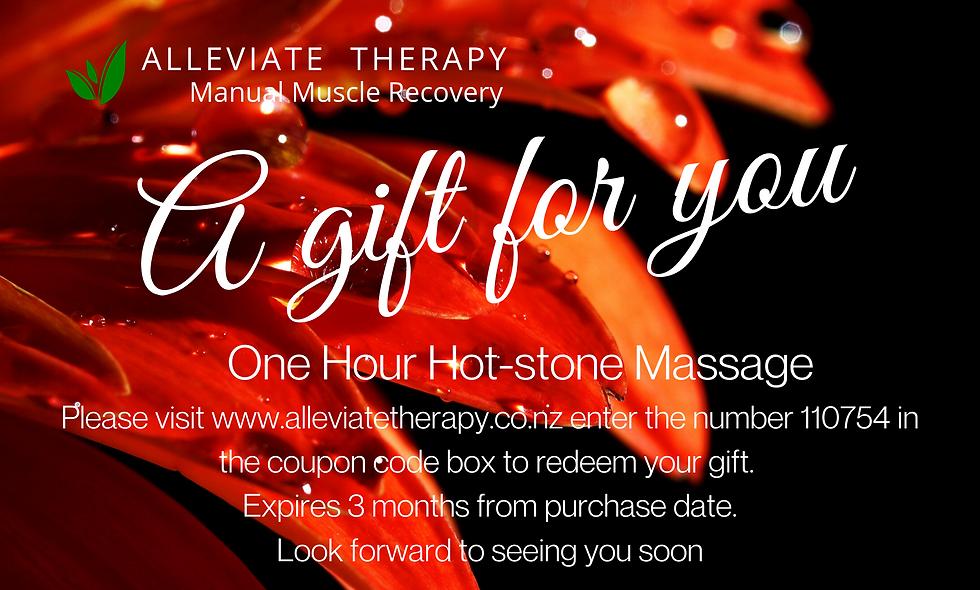 One Hour Hotstone Massage