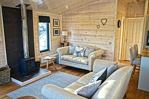 Wildwood #Cabin with log burner