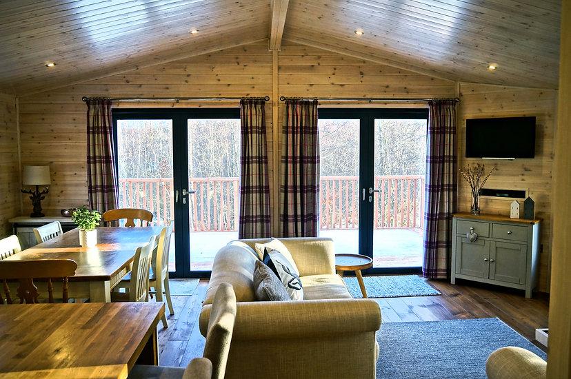 Wildwood cabin living area