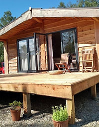 Wildwood south facing private deck