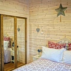 Master bedroom double wardrobe