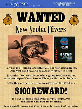 "Scuba Advertising ""Bounty Hunter"" Promotion"