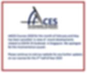 AACES Announcement
