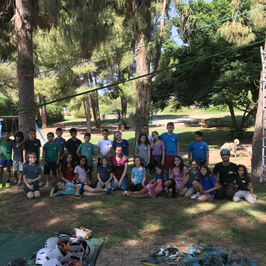 יום הולדת פארק חבלים לכיתה