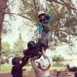 טיפוס בשיתוף פעולה לילדים