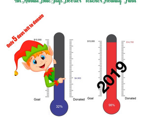 2020 Teacher Holiday Fund