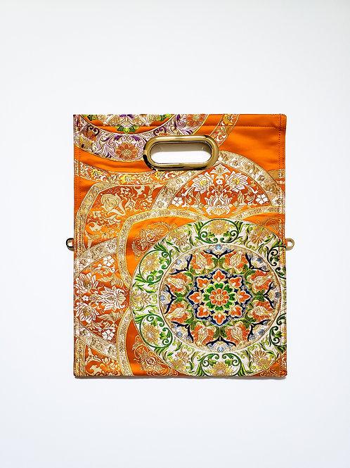 KIMONO Clutch Bag  Arabian Orange