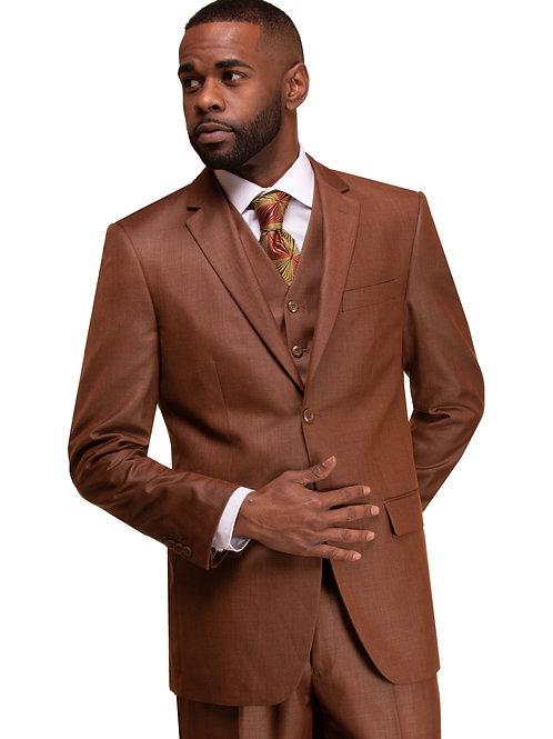 M3090 Rust 3 Piece Suit