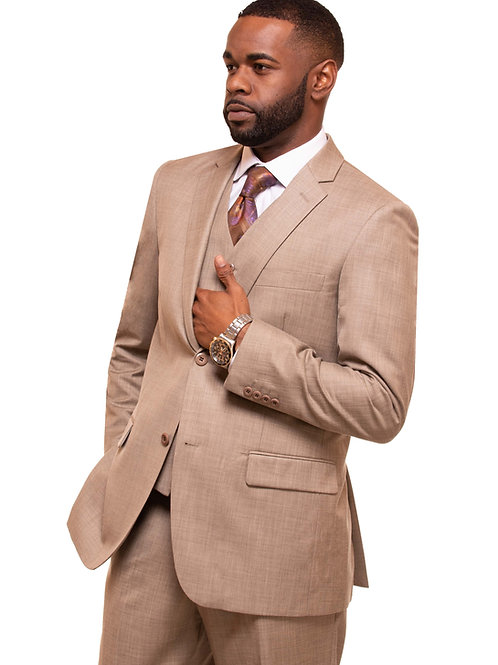 Oatmeal 3 Piece Suit