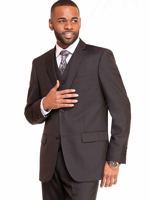 M3090 Black 3 Piece Suit