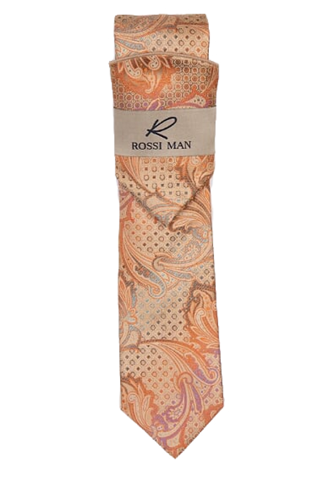 RMR009-5 Coral/Beige/Purple