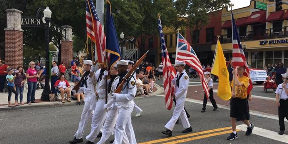 Veterans Day Parade in Lakeland