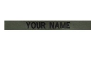 BDU Nametape(Set of 3)