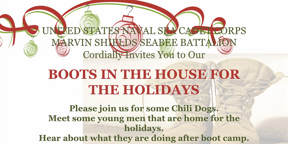 BOOTS IN THE HOUSE FOR THE HOLIDAYS!