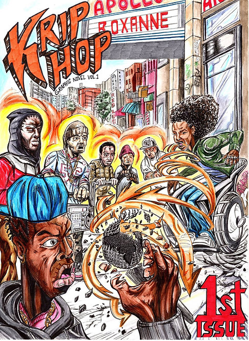 Krip Hop Nation Graphic Novel Vol 1