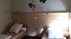Cottage 1 - chambre 2 lits simples