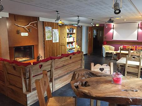 Bar lounge domaine du Bugnon