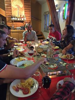 Table à feu - Domaine du Bugnon