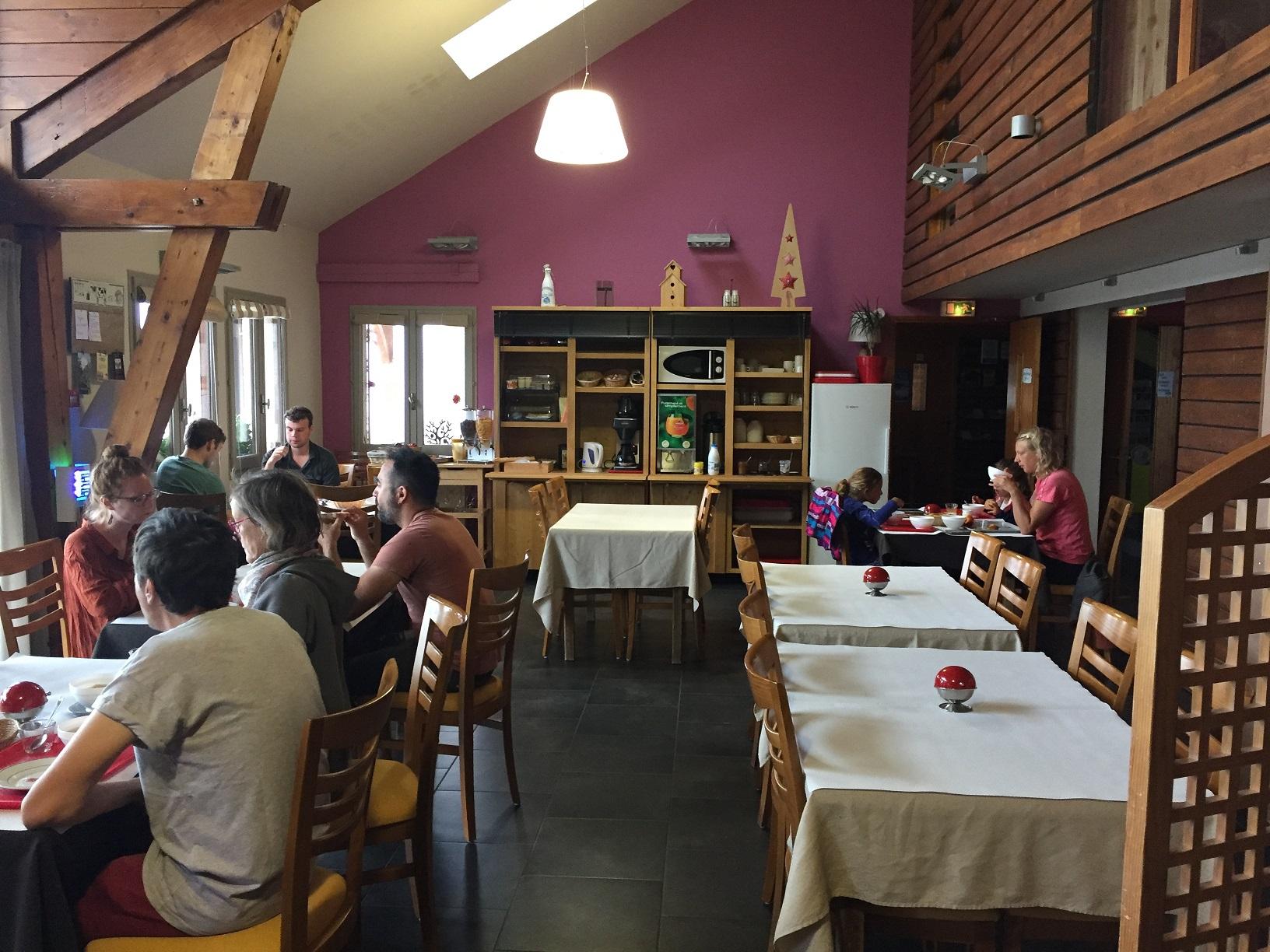 Petit déjeuner Domaine du Bugnon