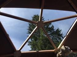Ouverture dome