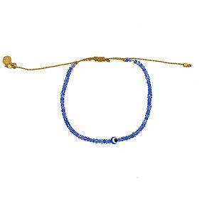 Bracelet cordon oeil