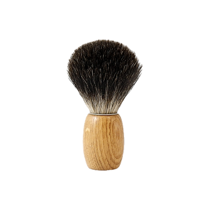 Blaireau de Rasage en Chêne - Gentleman Barbier