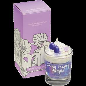 """Bougie """"Crème Fouettée"""" Shiny Happy Purple"""