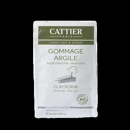 GOMMAGE ARGILE BLANCHE & ALOE VERA - CATTIER PARIS