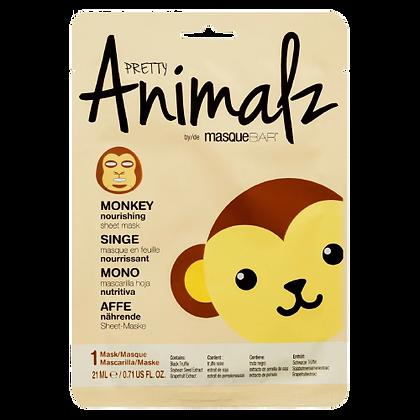 MASQUE NOURRISSANT EN TISSU - PRETTY ANIMALZ - SINGE
