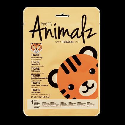 MASQUE HYDRATANT EN TISSU - PRETTY ANIMALZ - TIGRE