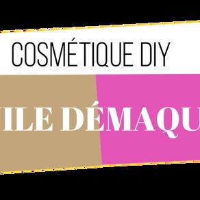 RECETTE DIY - MON HUILE DÉMAQUILLANTE