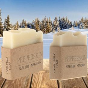 Pepperskin: Des savons bons pour la peau et la planète.