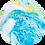 Thumbnail: Bombe de Bain Shore Thing Watercolours