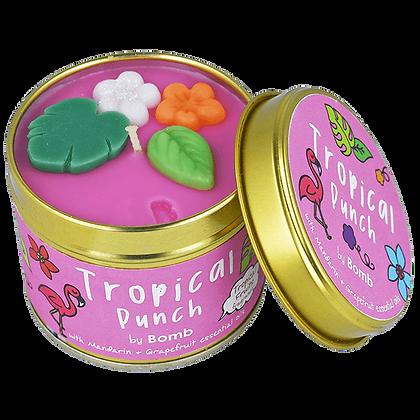 Bougie boîte en étain Tropical Punch