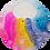 Thumbnail: Raining Rainbows Watercolours