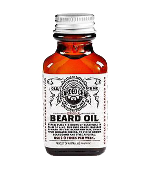Huile pour Barbe Old Time - The Bearded Chap