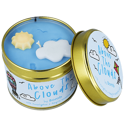 Bougie boîte en étain Above The Clouds