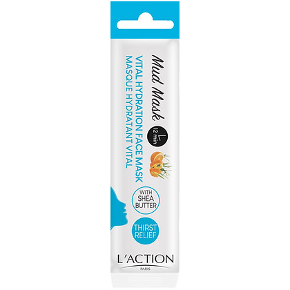 MASQUE VISAGE HYDRATANT VITAL - L'ACTION PARIS