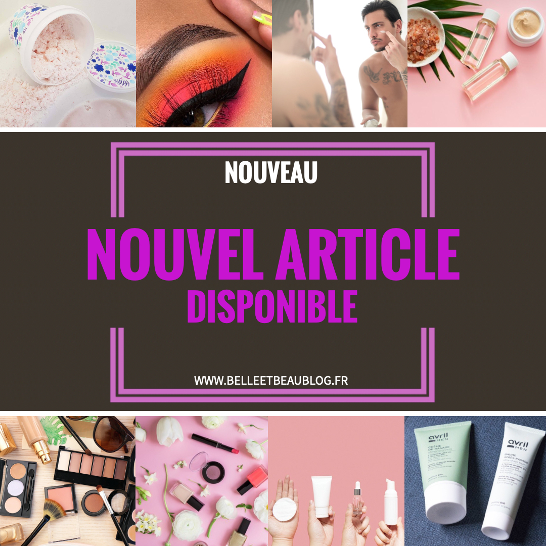Nouvel article disponible
