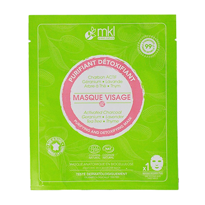 MASQUE VISAGE PURIFIANT & DÉTOXIFIANT MKL GREEN NATURE