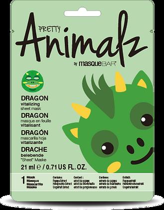 MASQUE REVITALISANT EN TISSU - PRETTY ANIMALZ - DRAGON
