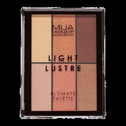 PALETTE ULTIME LIGHT LUSTRE - MUA MAKEUP ACADEMY