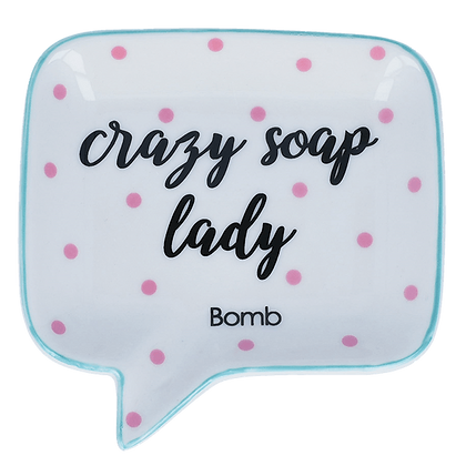 PORTE-SAVON CRAZY SOAP LADY BOMB COSMETICS