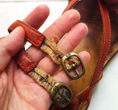 Replace Worn Elastics, Velcros and Straps'