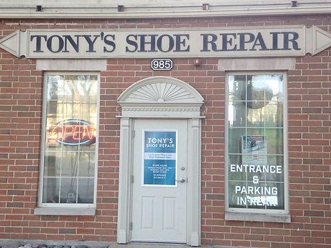 Tony's Shoe Repair Shop