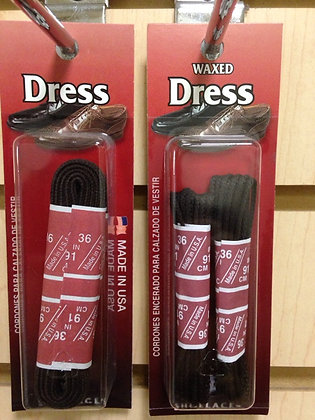 Dress & Waxed Dress Shoe Laces