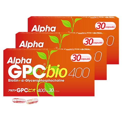 アルファGPC® ビオ (30カプセル 3個セット)