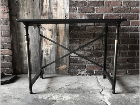 the iron stand table