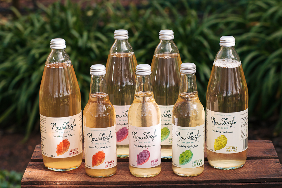 Newleaf Sparkling Apple Juice